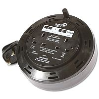 Cable Extension Reel 5 Metre 10 Amp 2 Socket
