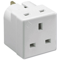 Mains Adaptor Two Way 13 Amp