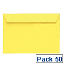 Coloured Envelopes pack 50