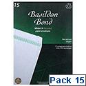 Basildon Bond Envelopes C4 White Pack 15 Ref R10046