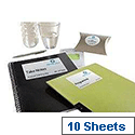 Avery Printer Labels Inkjet Glossy 8 per Sheet 88.9x63.5mm Ref C6081-11 [80 Labels]
