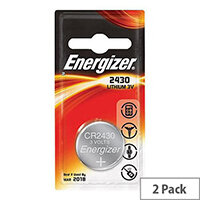 Energizer CR2430 Button Cell Coin Batteries Lithium Battery Pack 2