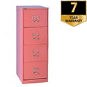 4 drawers flush front cabinet