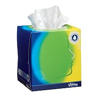 Kleenex Balsam Facial Tissues Cube White Pack of 12 Ref 8825