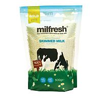 Milfresh Granulated Skimmed Milk Dairy Whitener 500g Pouch Bag Ref A02461