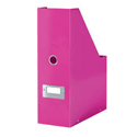 Leitz WOW Click and Store Magazine File Pink Ref 60470023