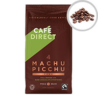Cafe Direct Machu Pichu Roast Whole Bean Coffee 227g Ref FCR1004