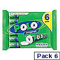 Nestle Polo Mints 34g Tube Ref 12110495 [Pack 6]