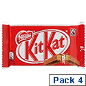 Nestle Kit Kat 4 Finger Pack Ref 12167199 [4 Packets]