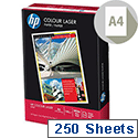 HP Hewlett Packard A4 160gsm White Colour Laser Printer Paper Ream of 250 Sheets