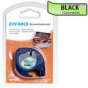 Dymo LetraTag Tape Metallic 12mmx4m Metallic Green Ref S0721740