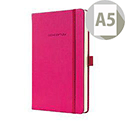 Sigel A5 Conceptum Notebook Hard Cover 80gsm Ruled 194pp Pink Ref CO573