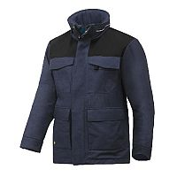 Snickers 1101 RuffWork 37.5 Insulated Parka Navy/Black