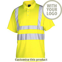 6005 High Vis Pique Polo Shirts 110255 - Customise with your brand, logo or promo text
