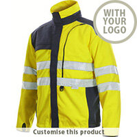 6302 Advanced Fleece High Visibility Jacket 110260 - Customise with your brand, logo or promo text