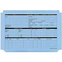 Personnel Wallet Blue Pk50 PWB01