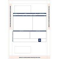 Sage Compatible Payslip Mailer Self Seal Ref SE100 Pack 500