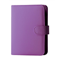 Collins Paris Pocket Organiser Padded Leather 2017 Diary Insert Refills 120x81mm Purple Ref KT2855