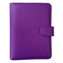 Collins Paris Personal Organiser Padded Leather 2017 Diary Insert Refills 172x96mm Purple Ref PR2855