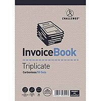 Challenge Triplicate Book Headbound Carbonless Invoice Ref 400048636 [Pack 5]