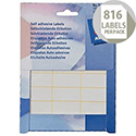 Avery Labels 18x38mm Rectangular White (816 Labels)