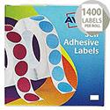 Avery Label Dispenser for 16x22mm White (1400 Labels)