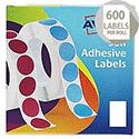 Avery Label Dispenser for 24x37mm White (600 Labels)