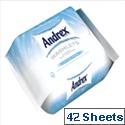 Andrex Toilet Tissue Moist Washlets Flushable 42 Sheets Ref M01384
