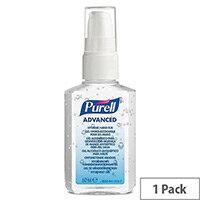 PURELL Advanced Hygienic Hand Rub 60ml Pump Spray (Pack 1)
