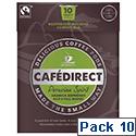 Cafe Direct Peruvian Spirit Espresso Coffee Pods Ref FCR0027 [Box 10]