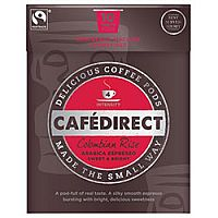 Cafe Direct Colombian Rise Espresso Coffee Pods Intensity Level 4 [Box of 10] FCR0028
