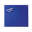 Nobo Diamond Drywipe Board Magnetic 450x450mm Blue Ref 1903953