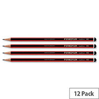 Staedtler 2H Pencil Cedar Wood Pack 12