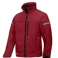 Snickers 1200 AllroundWork Softshell Jacket Red/Black