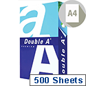Double A A4 90gsm White Multifunctional Premium Copier Paper Ream of 500 Sheets