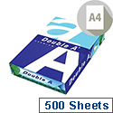 Double A Premium  A4  Multifunction Copier Paper Ream-Wrapped 100g/m2  White  Pack of 500 Sheets