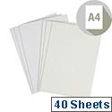 Touch Feltmark A4 Ivory Paper 145gsm 210x297mm Ref 88PFT347 40 Sheets