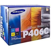 Samsung Laser Toner Value Pack Page Life 4500pp Black/Cyan/Magenta/Yellow Ref CCLT-P406C/ELS pk 4