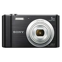 Sony DSC-W800 Digital Camera Kit 2.7in LCD 5x Zoom 20.1MP Black Ref SON2314