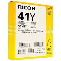Ricoh 405764 GC41Y Toner Cart HY Yellow
