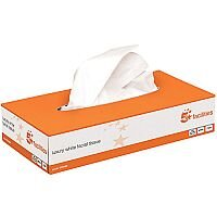 Luxury Facial Tissues Flat Box 2 Ply 100 Sheets Pack of 36