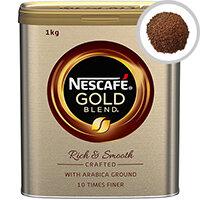 Nescafe Gold Instant Blend Coffee 1kg Tin Ref 12284108