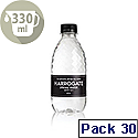 Harrogate Still Spring Water Bottel 330ml Ref P330301S Pack 30