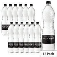 Harrogate Still Spring Water Bottles 1.5L Ref P150121S Pack 12