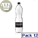 Harrogate Still Spring Water Glass Bottles 1.5L Ref P150121S Pack 12