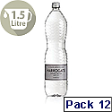 Harrogate Sparkling Water 1.5L Glass Bottles Pack of 12 Ref P150122C