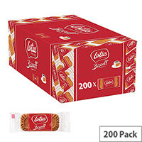 Lotus Caramelised Biscuits Individually Wrapped in Two Biscuits (Pack 200)