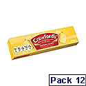 Crawfords Custard Cream Biscuits 150g Pack 12 Ref CCream Serv