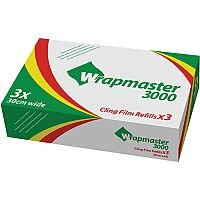 Wrapmaster 3000 Cling Film Refills 30cm Pack of 3