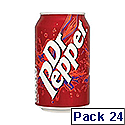Dr Pepper Cans 330ml (Pack 24) Ref A07897